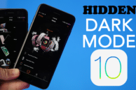 Is there a Hidden Dark Mode in iOS 10?