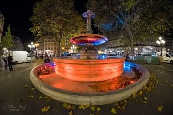Fontaine devant la Comédie Française
