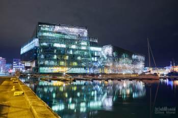 The Icelandic Opera (Harpa) côté mer