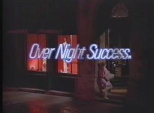 バレエ・ダンス関係者はぜひみてみて!SONYカセットテープ販促用ビデオ「オーバーナイト・サクセス」