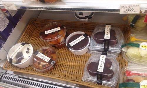 セブンイレブンは和菓子とカットフルーツがよさそう