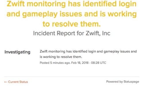 Zwiftがログインできない?そんな時はこちらのサイトをチェックしよう!