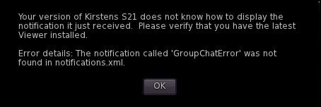 ADITI XMPP Chat Error