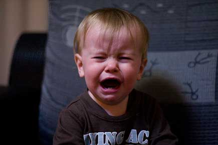 Crying Leo by storyvillegirl on Flickr