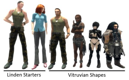 Free Second Life Shapes