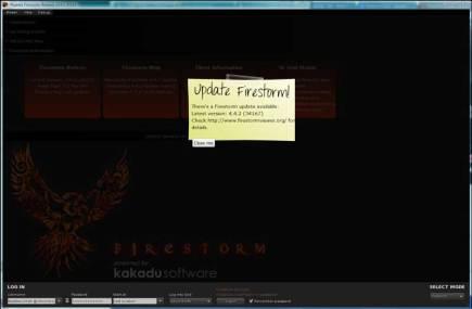 Firestorm Splash Screen