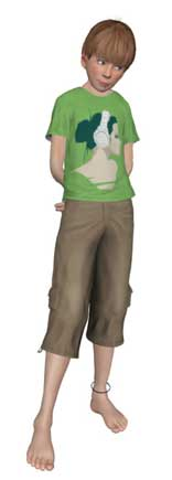 Loki Eliot Mesh Clothes - Image by Loki