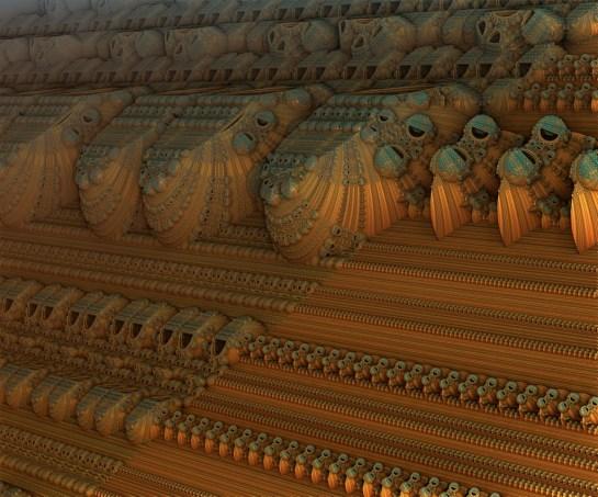 Mandelblub 3D Generated Image