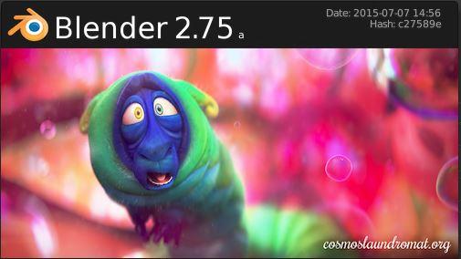Blender 2.75a July 2015