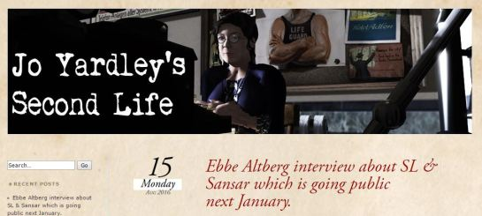 Jo Yardley - Interview Coverage