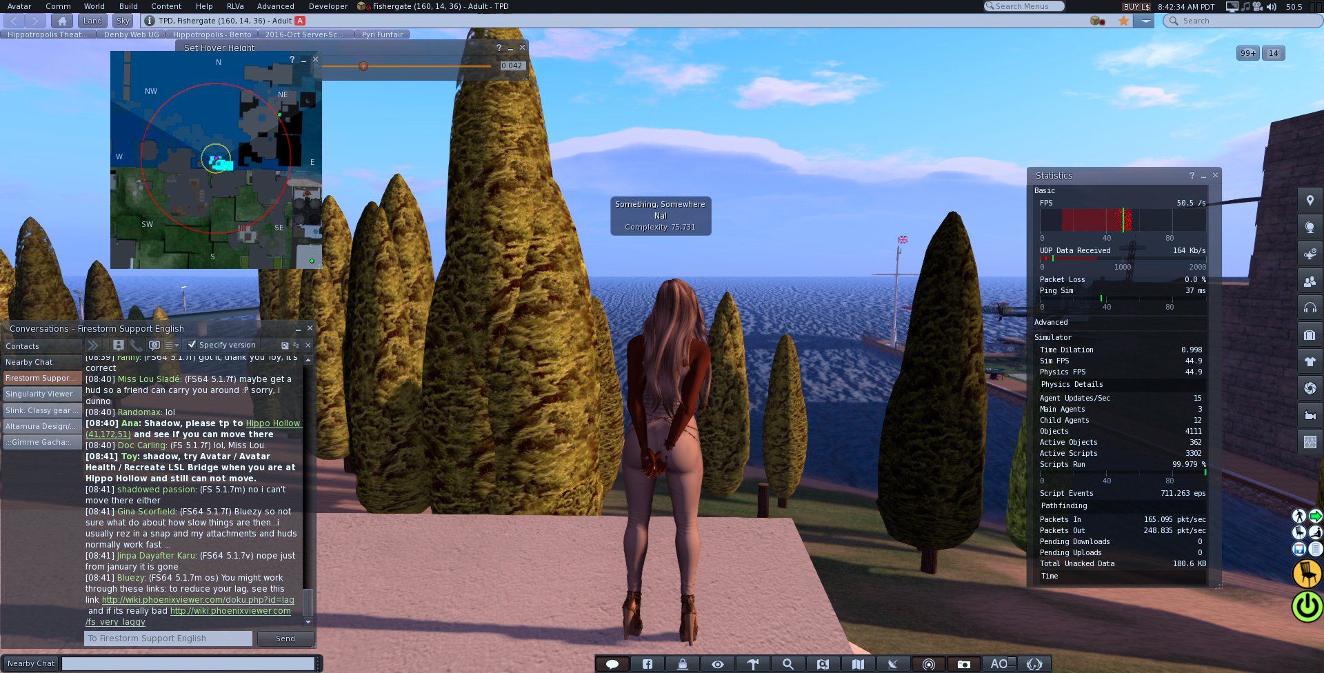 Firestorm is one hell of a memory hog second life viewer.