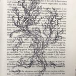 joshua tree drawn inside of a book