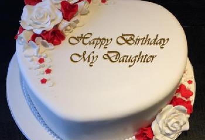 98 Birthday Cake And Wishes For Daughter Birthday Cake Images