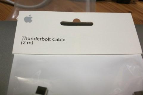 Thunderboltケーブル