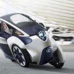 この電気自動車ほしいですね!TOYOTAのi-ROAD