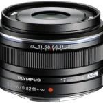オリンパスのマイクロフォーサーズ単焦点レンズ17mm、45mm、75mmのブラックバージョンが正式発表