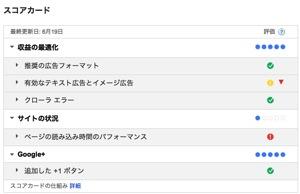 Google AdSense スコアカード2013 06 22 06 33 47