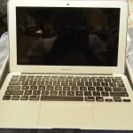 Macbook Air 11インチを家の外への持ち出し用に購入しました