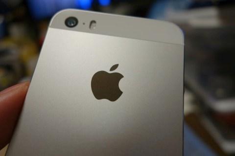 IPhone 5s シルバー 001