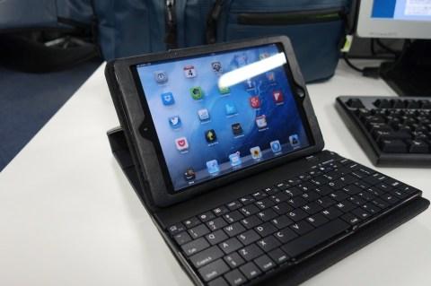 サンワダイレクト iPad mini Bluetoothキーボード付きケース 005