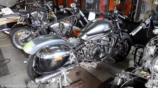 modifikasi motor gede_Kawasaki Vulcan S ABS