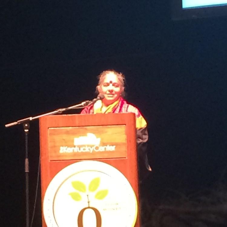 Vandana Shiva, Environmentalist and author
