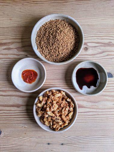 Amelia pantry ingredients