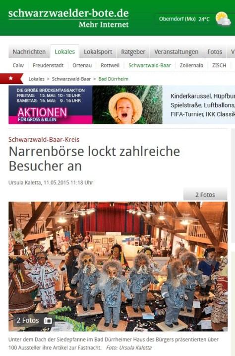 Schwabo Narrenbörse2015