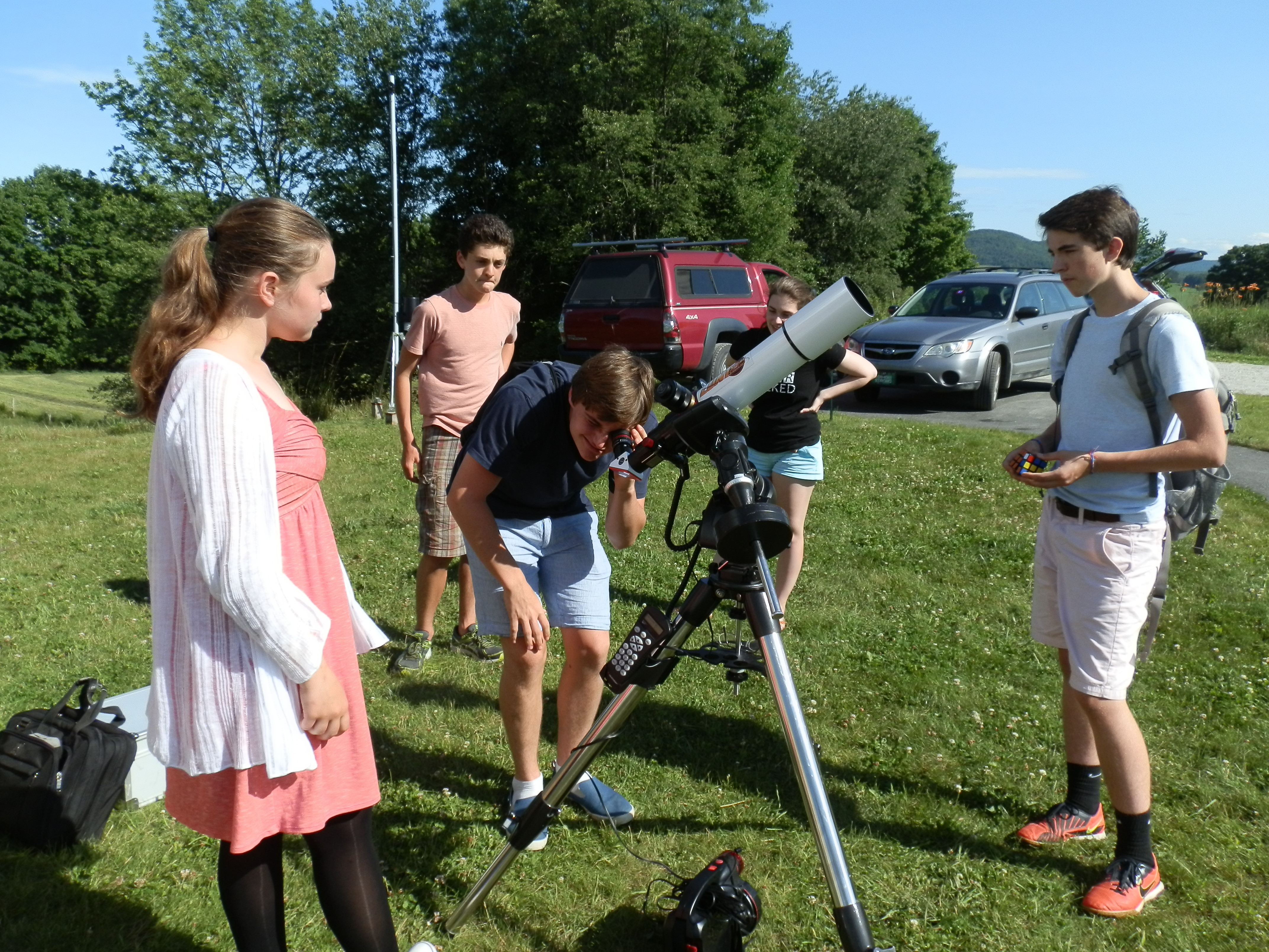 Nkaf Summer Space Camp Connects Vt Teens To The Universe
