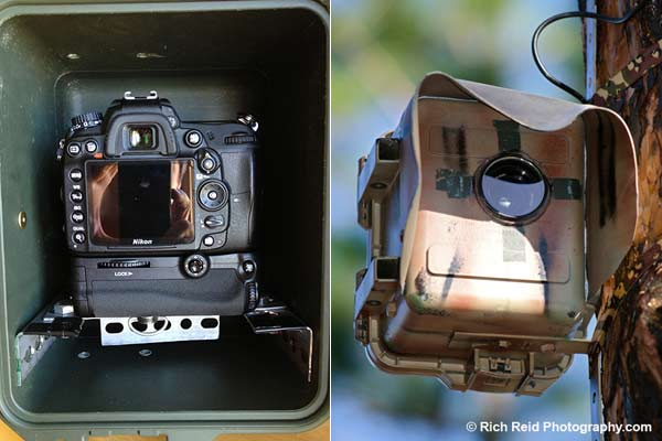 Time-lapse camera casing