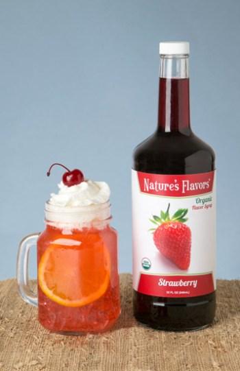 Natures Flavors Organic Vanilla Syrup