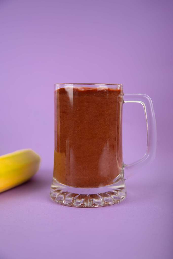 chocolate horchata protein shake