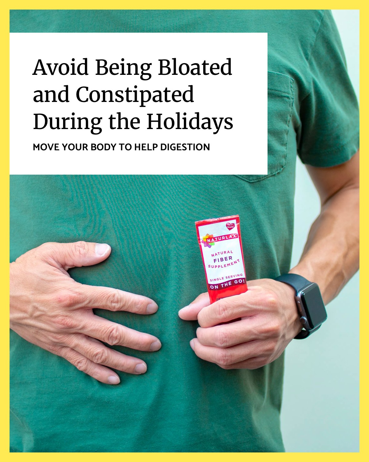 Avoid Being Bloated and Constipated During the Holidays