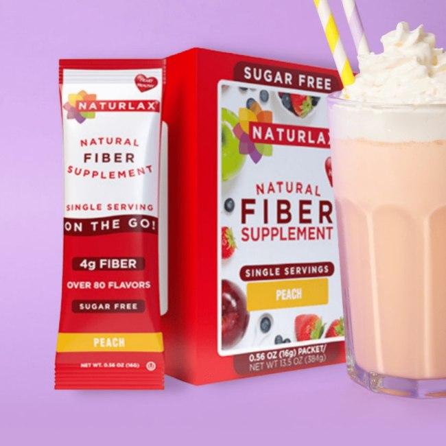 Sugar-Free Peaches and Cream Shake
