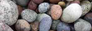 Ook stenen zijn een perfect mulchmateriaal!
