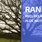 Randen in de Natuur Leiden Tot een Sterk Vergroot Raakvlak