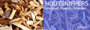 Hoe planten in houtsnippers?