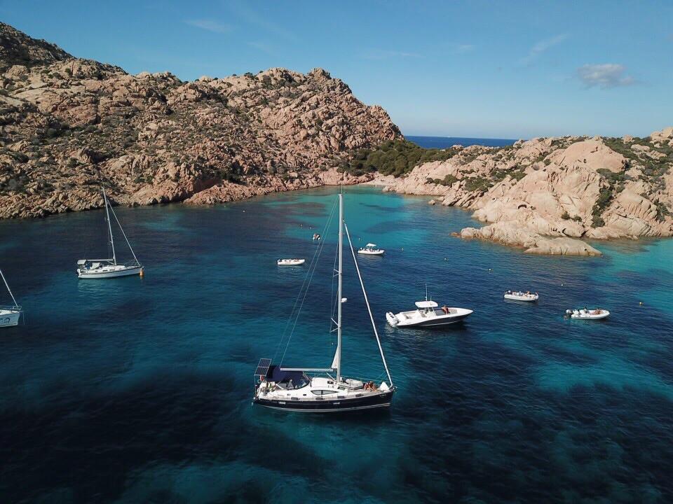 Caprera Island | best anchorages in la Maddalena