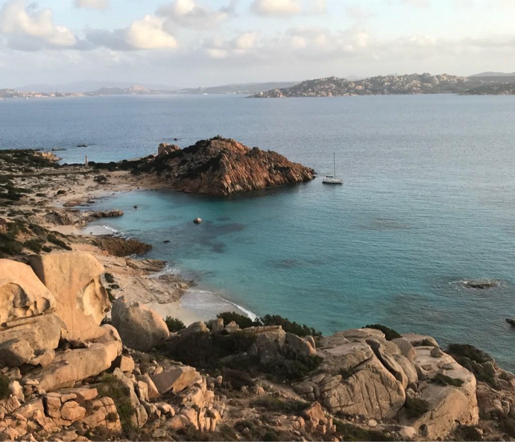 Spargi Island | best anchorages in la Maddalena