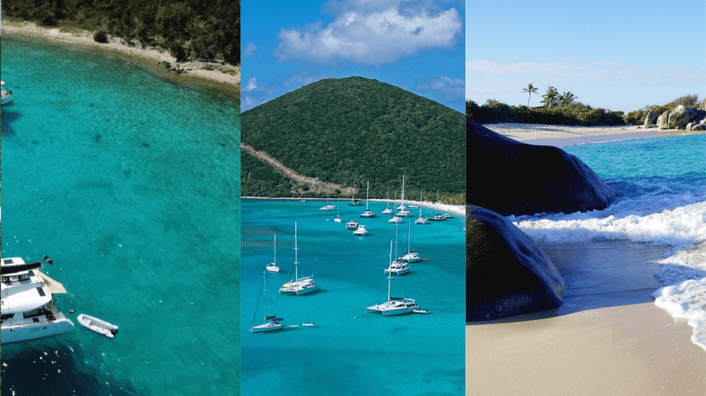 colors of the British Virgin Islands