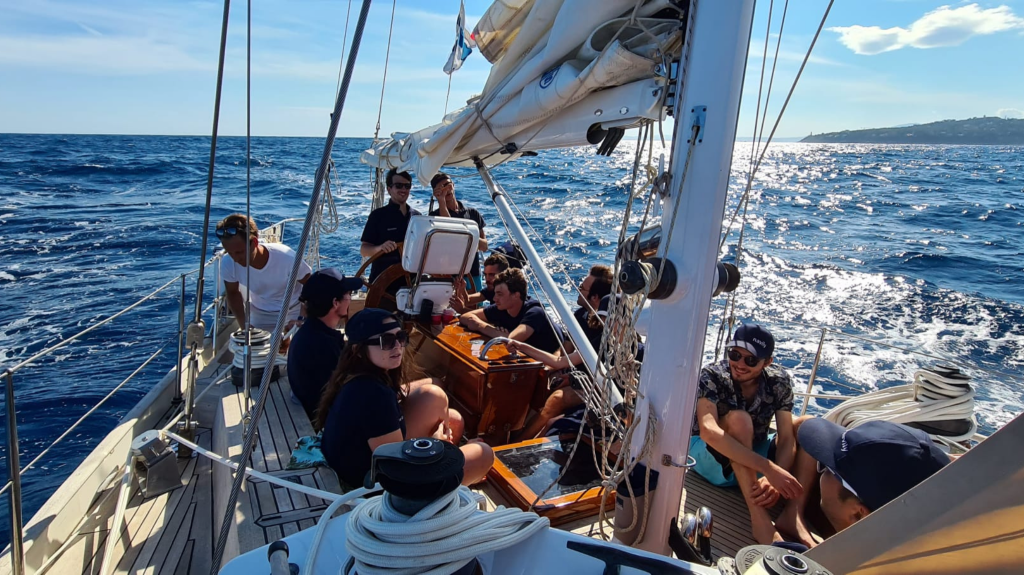 A day at sea with the Navily Team