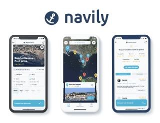 Navily nouvelle app présentation