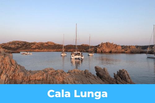 mouillage de Cala Lunga