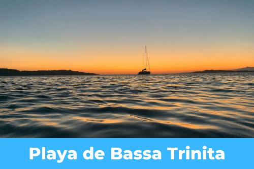 mouillage de Bassa Trinita
