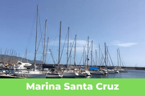 Les Canaries : Marina Santa Cruz