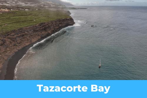 Les Canaries : Tazacorte Bay