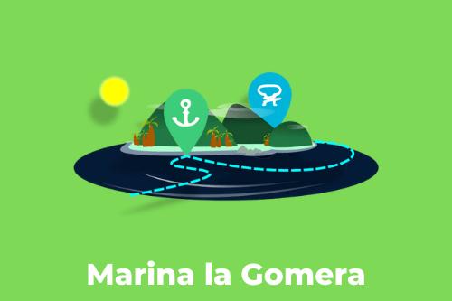 Les Canaries : Marina La Gomera