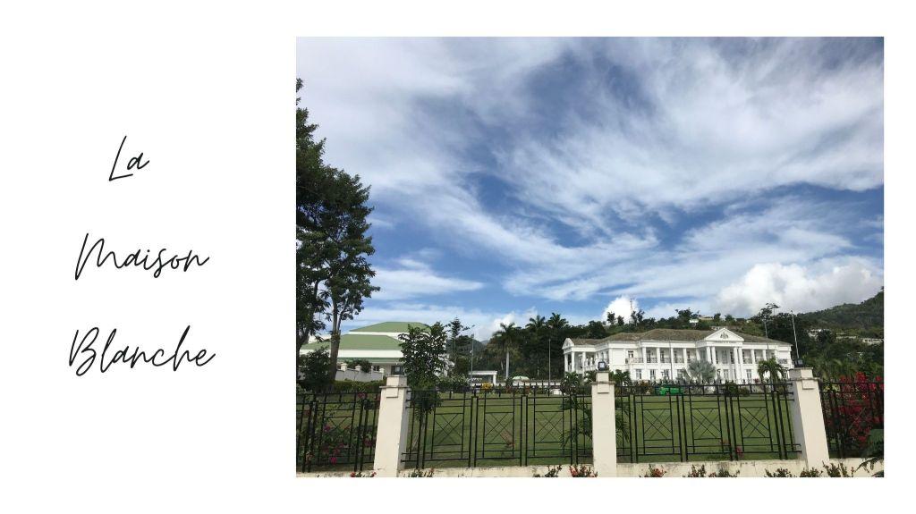 la maison blanche de Roseau