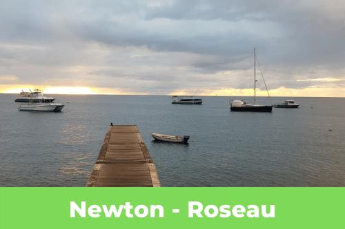 mouillage de Roseau en Dominique