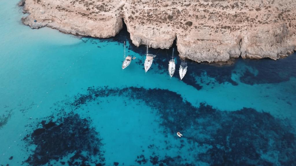 Blue Lagoon South et That il-Mazz à Comino